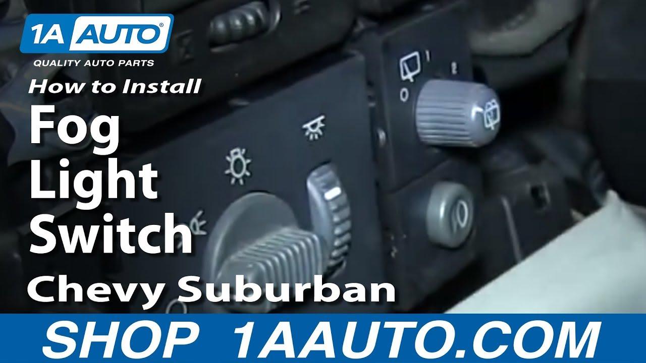 95-98 Chevy Silverado Headlight Switch Wiring Diagram ...