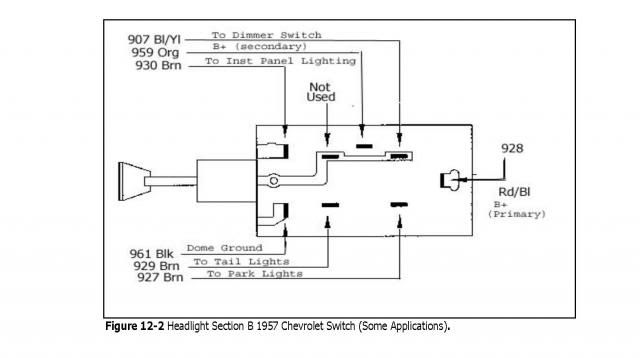 Diagram  86 Chevy Headlight Switch Wiring Diagram Full
