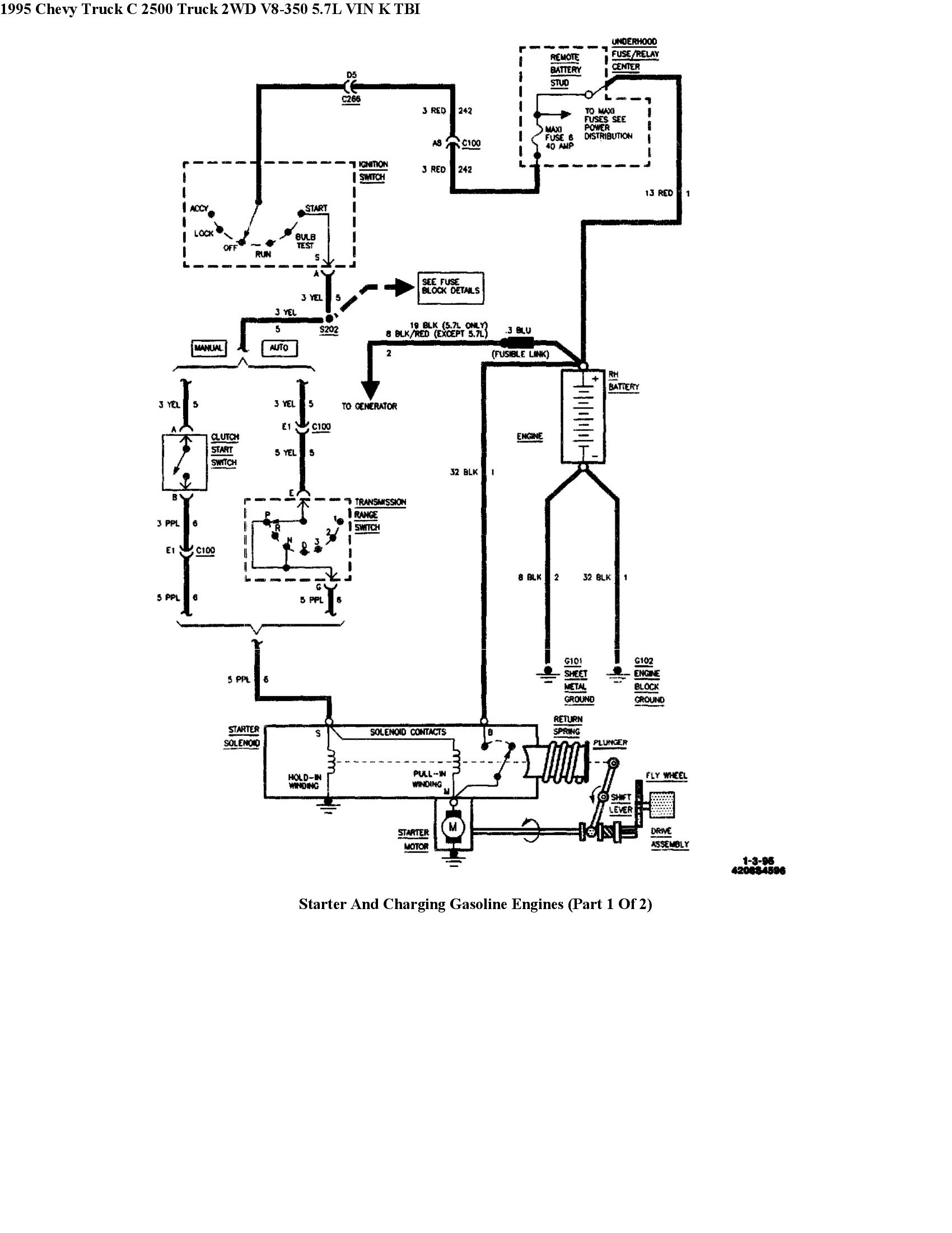 95 Chevy 454 Distributor Tack Wiring Diagram
