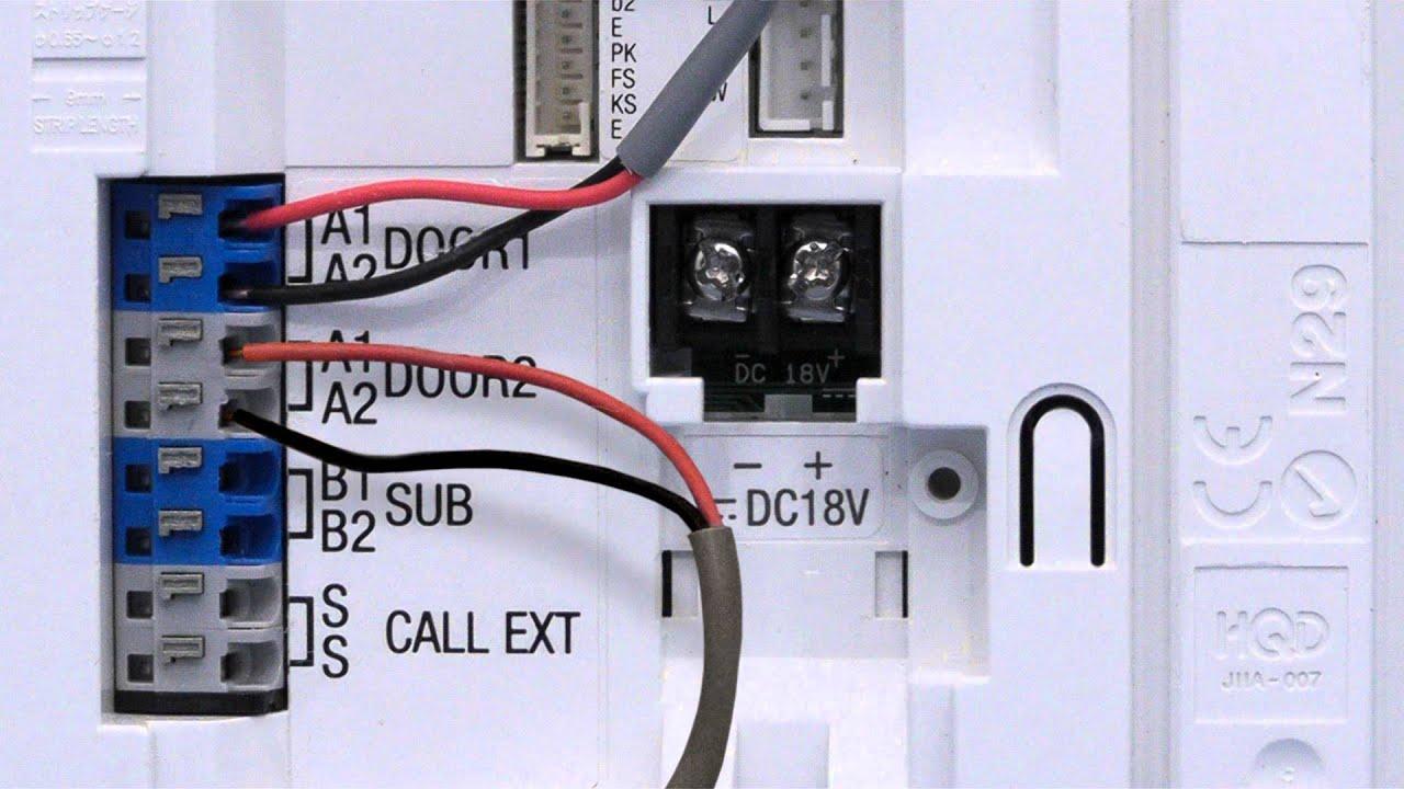 Aiphone Gt Wiring Diagram
