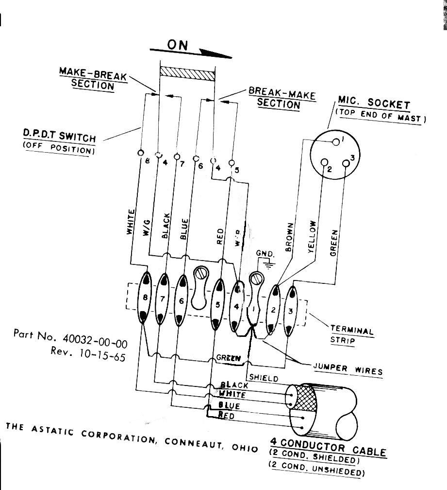 astatic 575 m6 wiring diagram