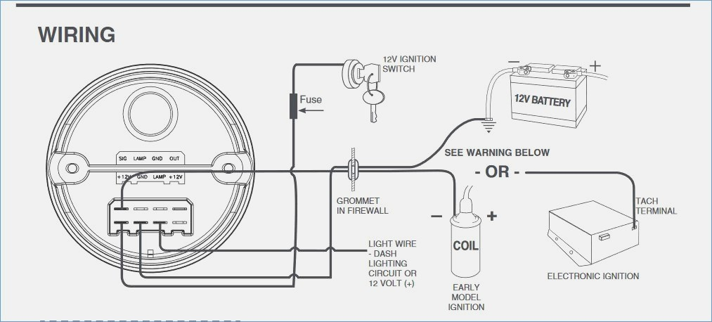 Autometer Monster Tach Wiring Diagram