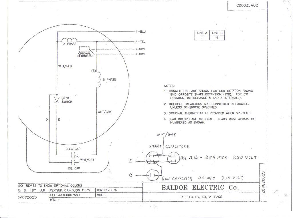 Baldor 213t Wiring Diagram