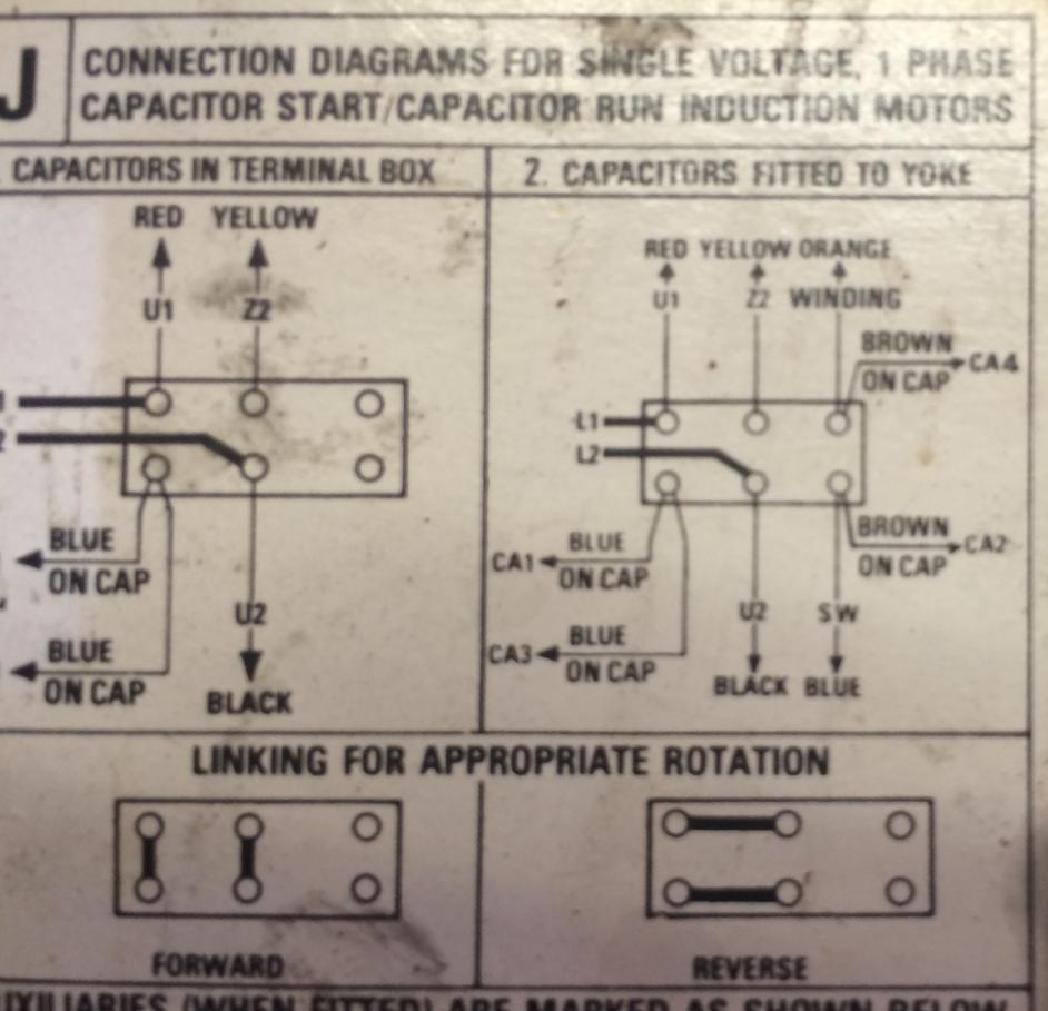 Baldor 7 5 Hp Capacitor Wiring Diagram