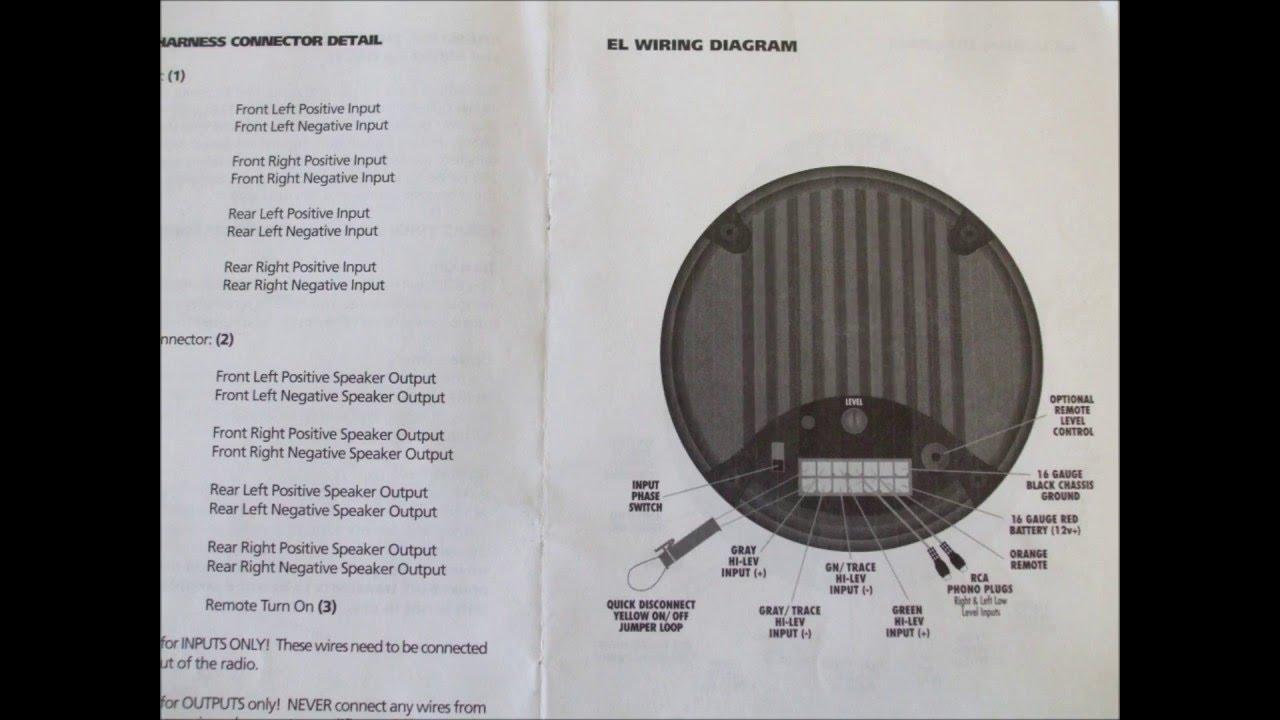 Bazooka Marine Wiring Diagram