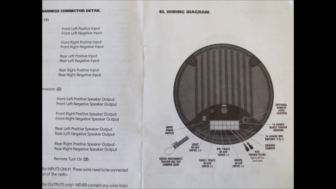Bazooka Tube Wiring Diagram