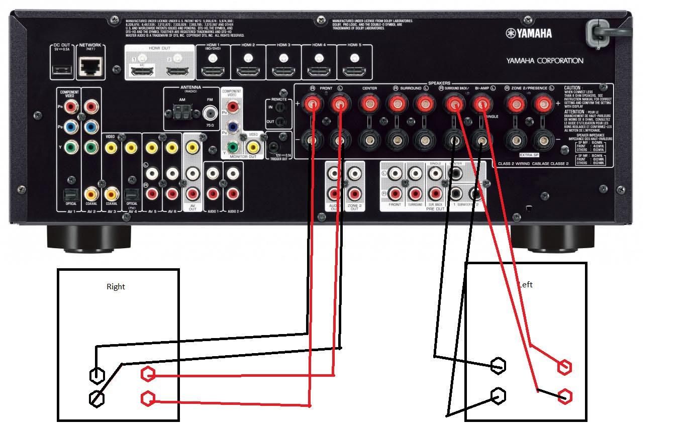 Diagram Bi Amping Speakers Diagram