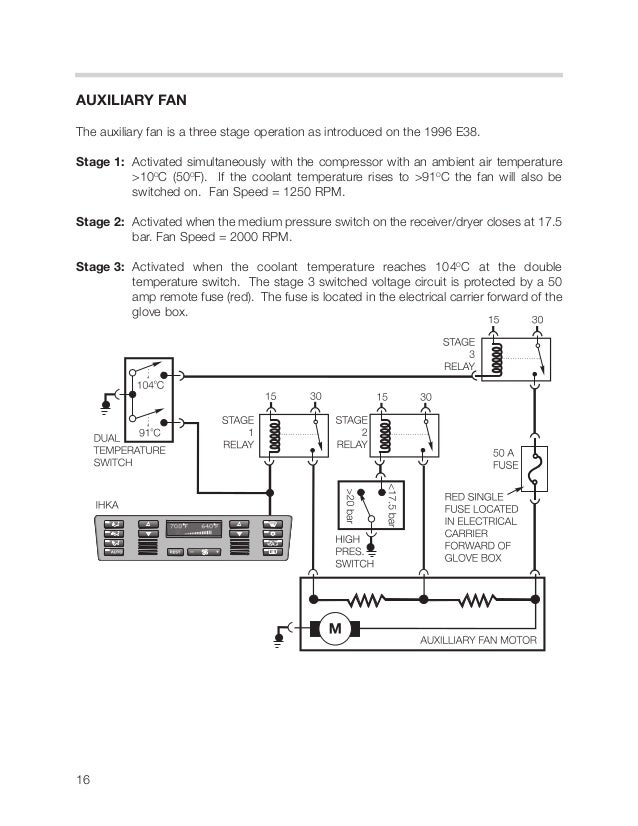 Bmw E39 Auxiliary Fan Wiring Diagram