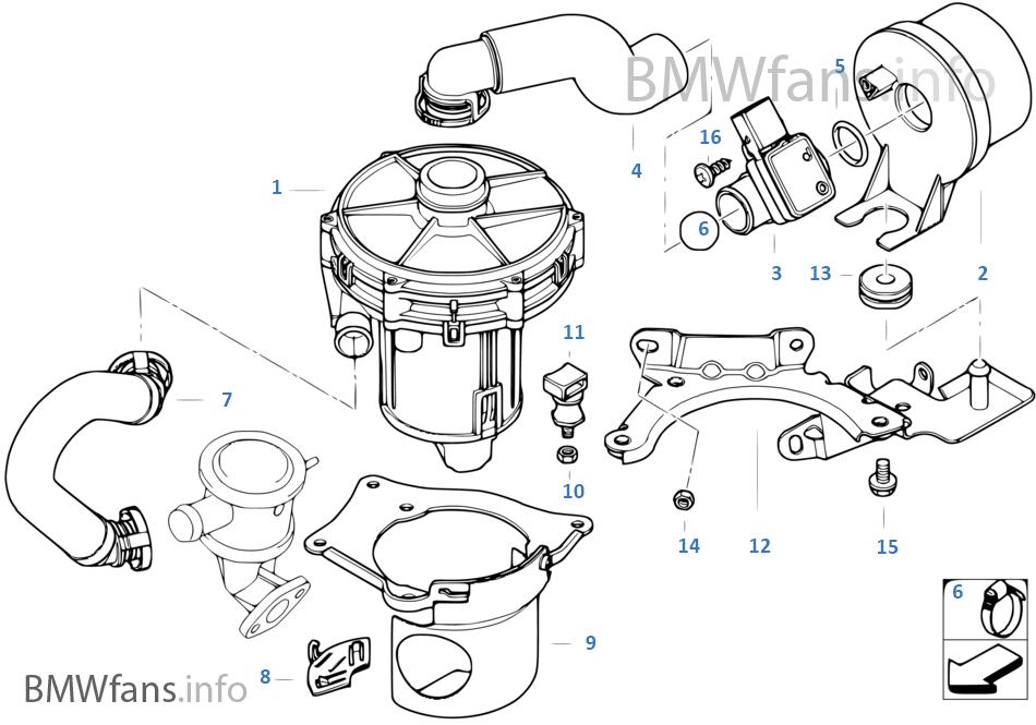 bmw e46 m56 mass air flow wiring diagram