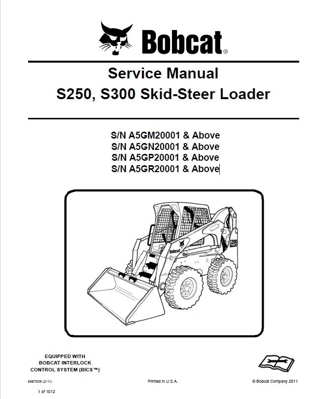 Bobcat 853 Wiring Diagram