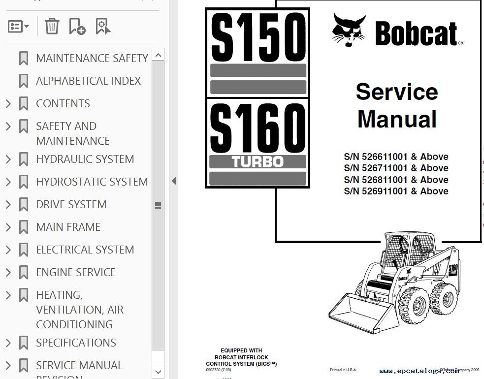 Bobcat 863 Wiring Diagram