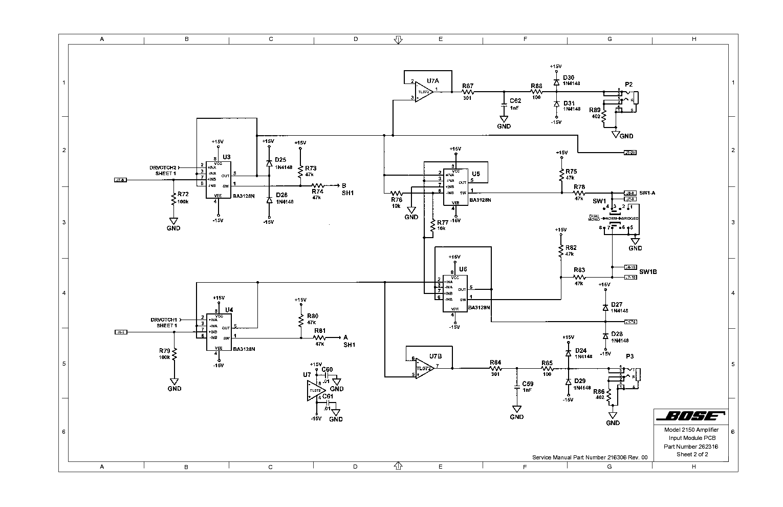 Bose Amplifier Wiring Diagram 25869046