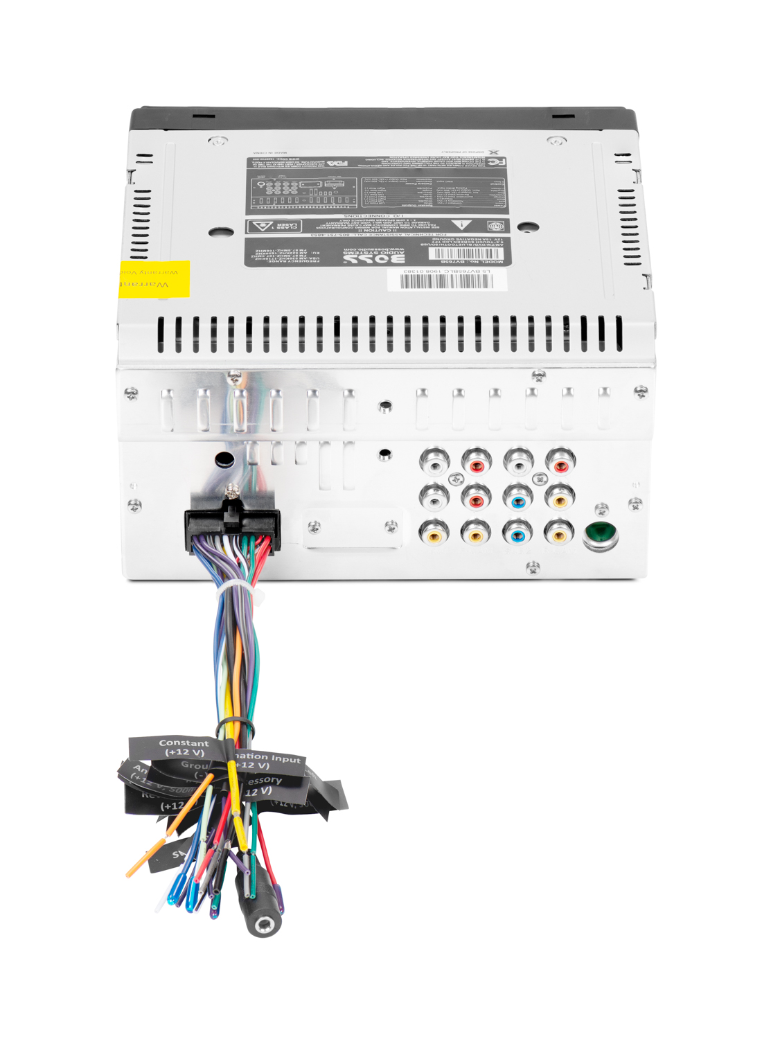 boss elite be1500 1 remote subwoofer control wiring diagram