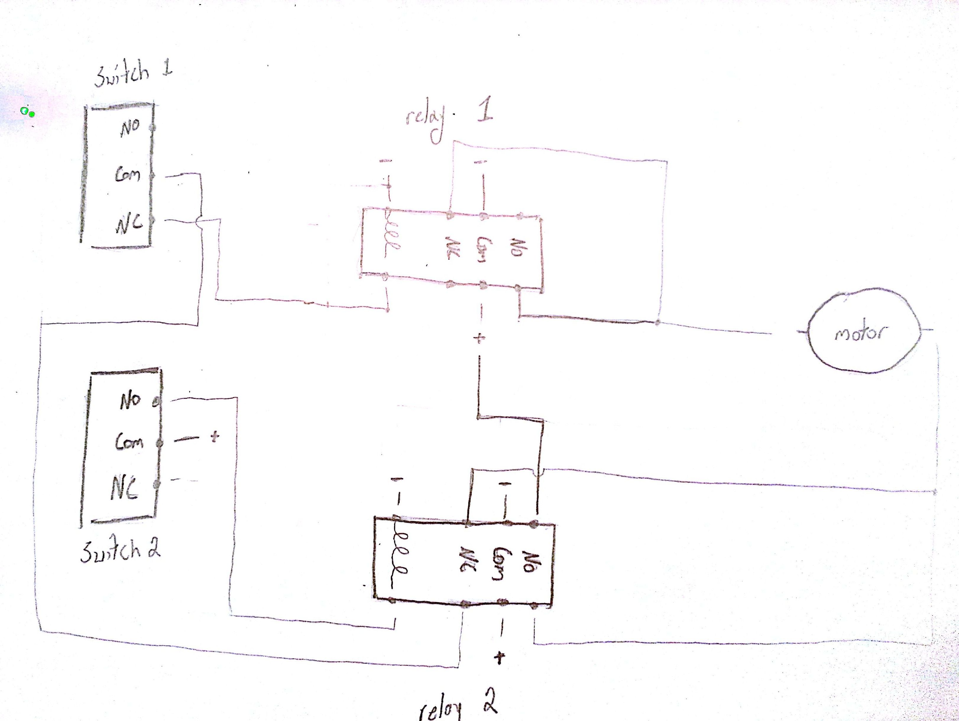 Bridgeport Mill Wiring Diagram On The Forward And Reverse ...