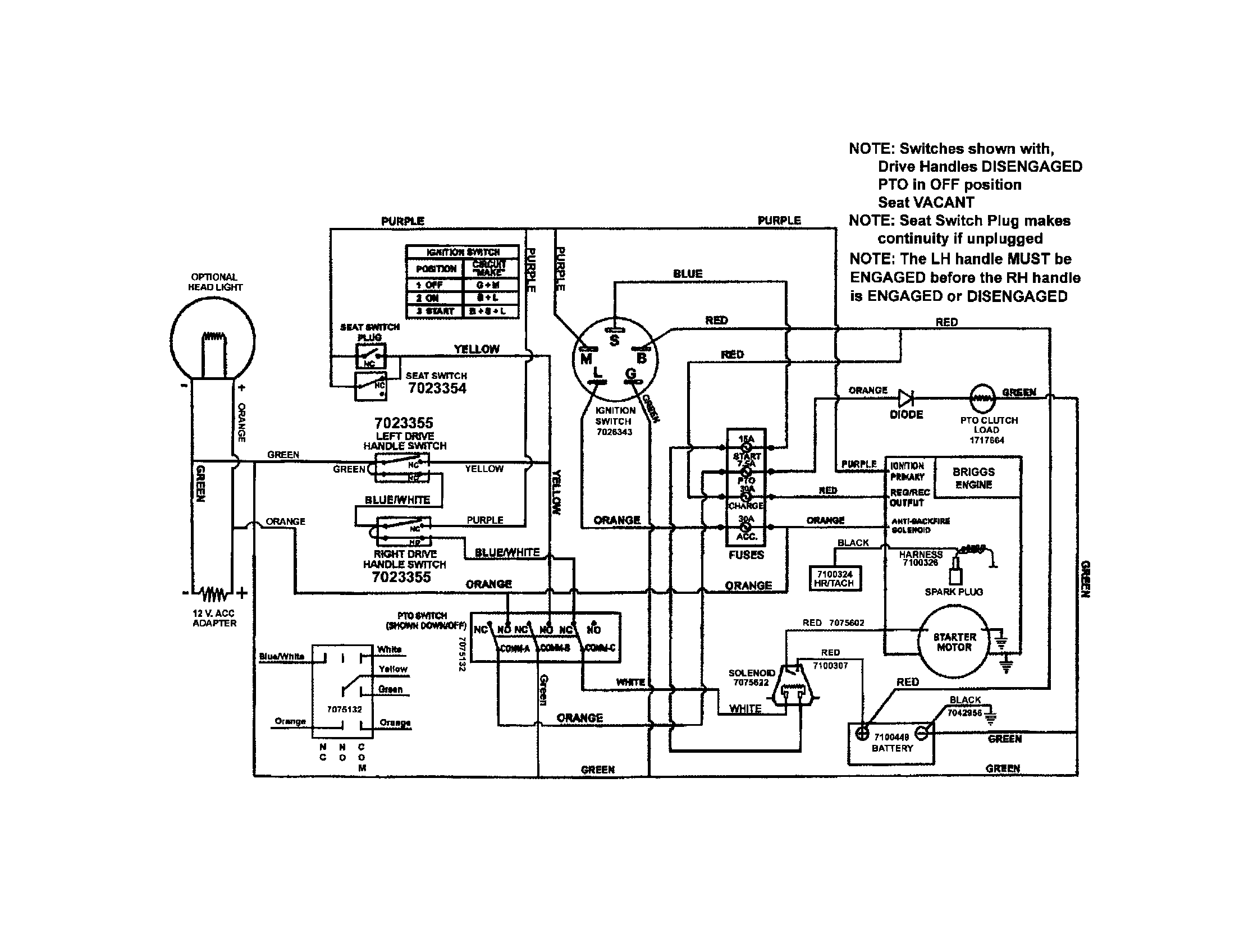 scotts s1642 lawn mower wiring diagram free download image 2