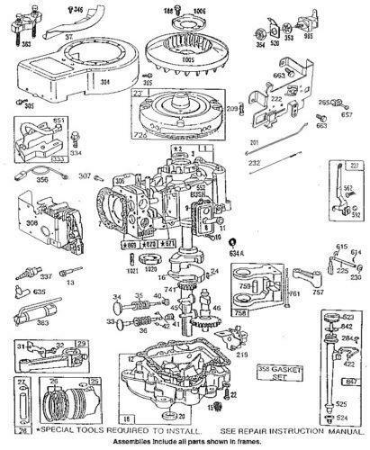 Briggs Stratton 15 5 Hp Ohv Engine Wiring Diagram