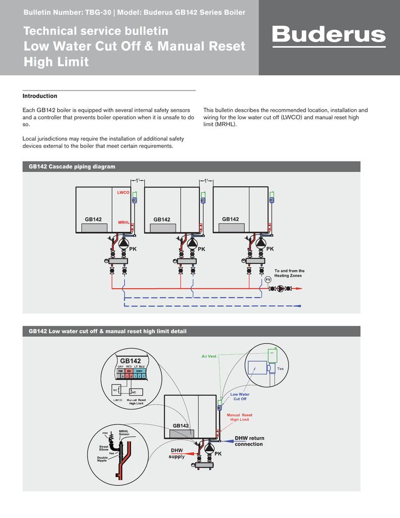 Buderus Gb142 Wiring Diagram