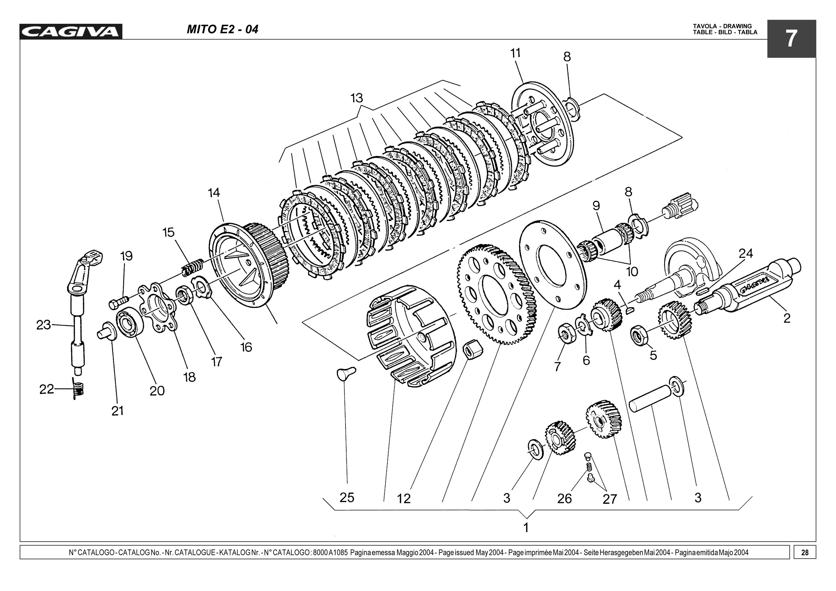 Cagiva Mito 125 Wiring Diagram