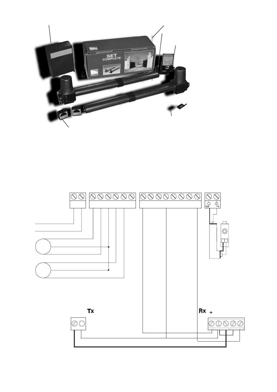 Came Za4 Wiring Diagram