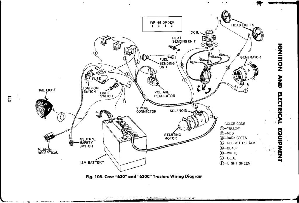 Case 1845c Wiring Schematic
