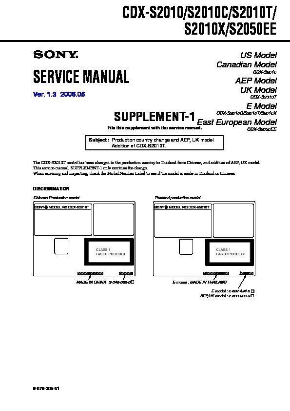 Sony Cdx Gt09 Wiring Diagram from wiringall.com