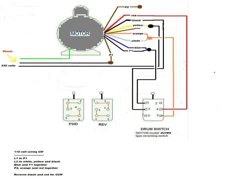Century Motor B813 Wiring Diagram