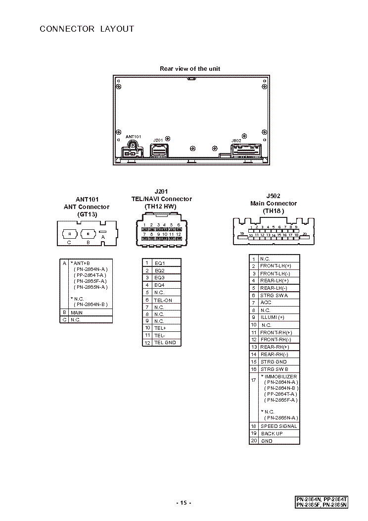 Clarion M508 Wiring Diagram from wiringall.com