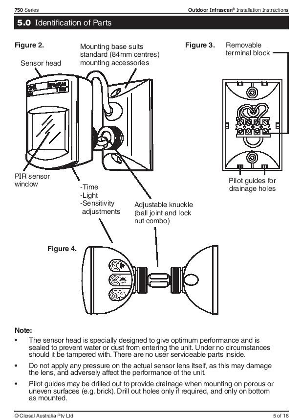 Clipsal Motion Sensor Wiring Diagram