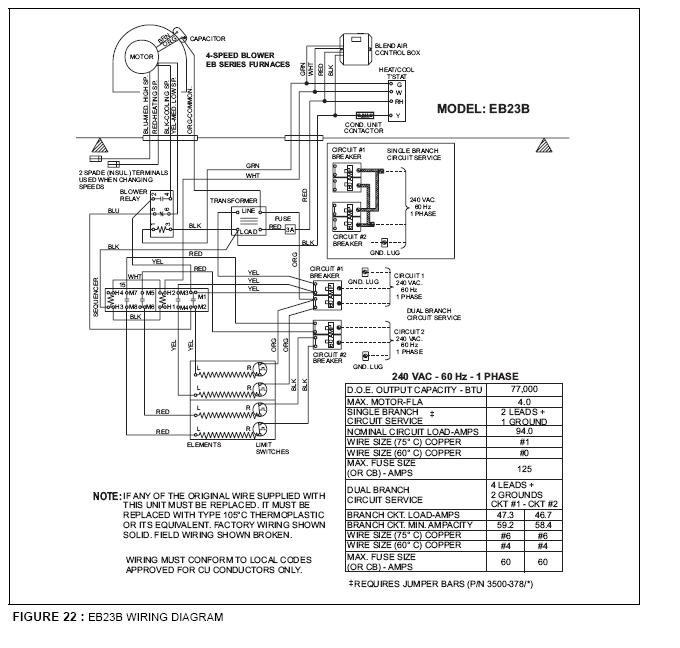 Wiring Diagram For Coleman Mobile Home Furnace