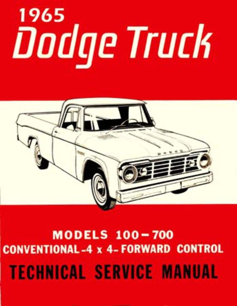 Color Wiring Diagram For 1965 Dodge Truck D200