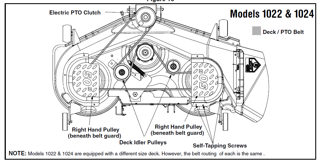 Cub Cadet Lt1022 Belt Diagram