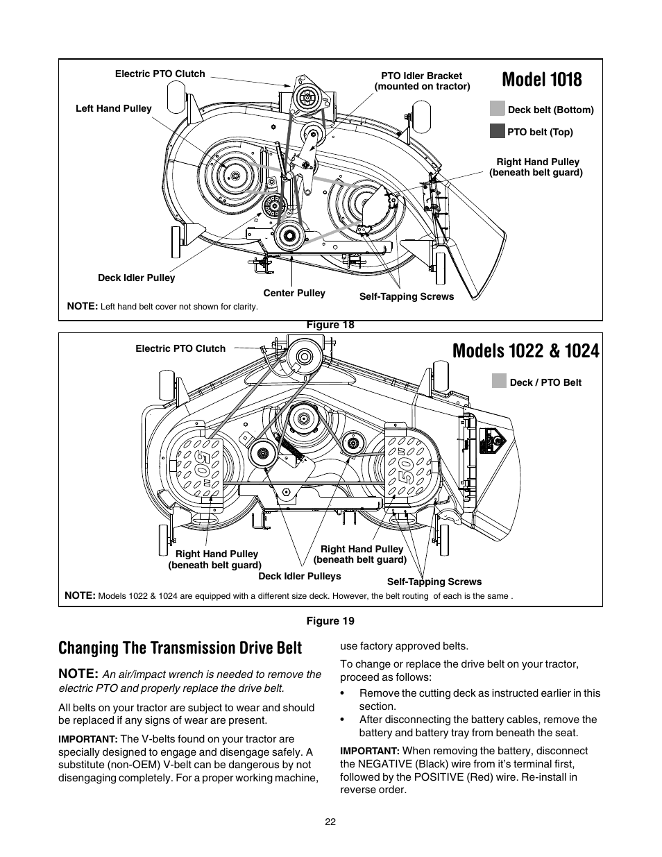 35 Cub Cadet Lt1018 Pto Belt Diagram Wiring Diagram