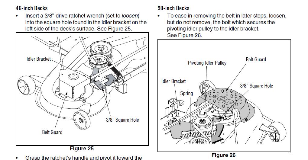 Cub Cadet Lt1045 Mower Deck Diagram