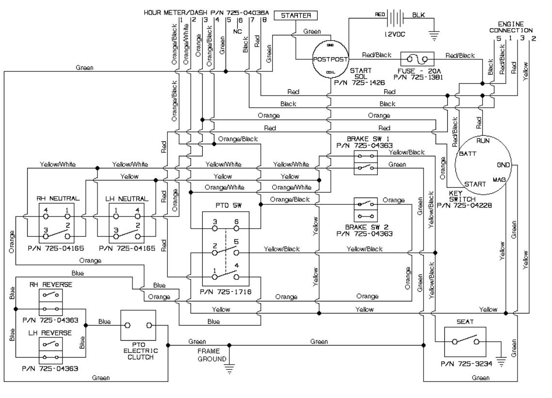 Cub Cadet Ltx 1042 Wiring Diagram