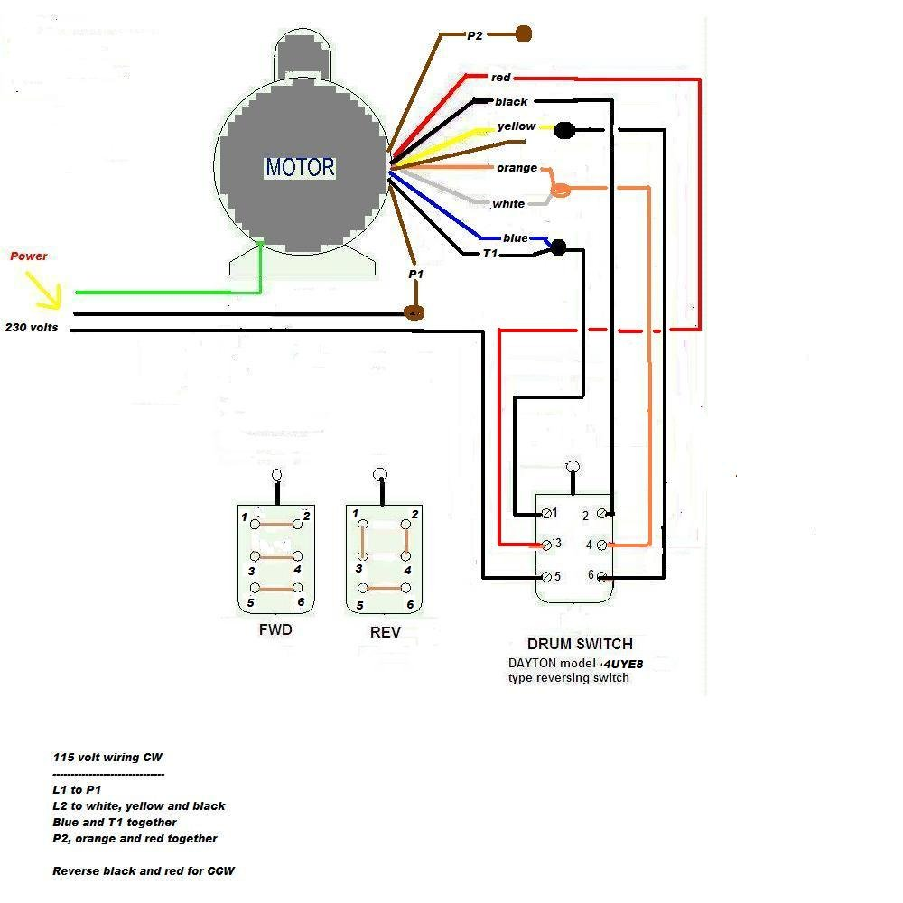 230V 3 Phase Motor Wiring Diagram from wiringall.com