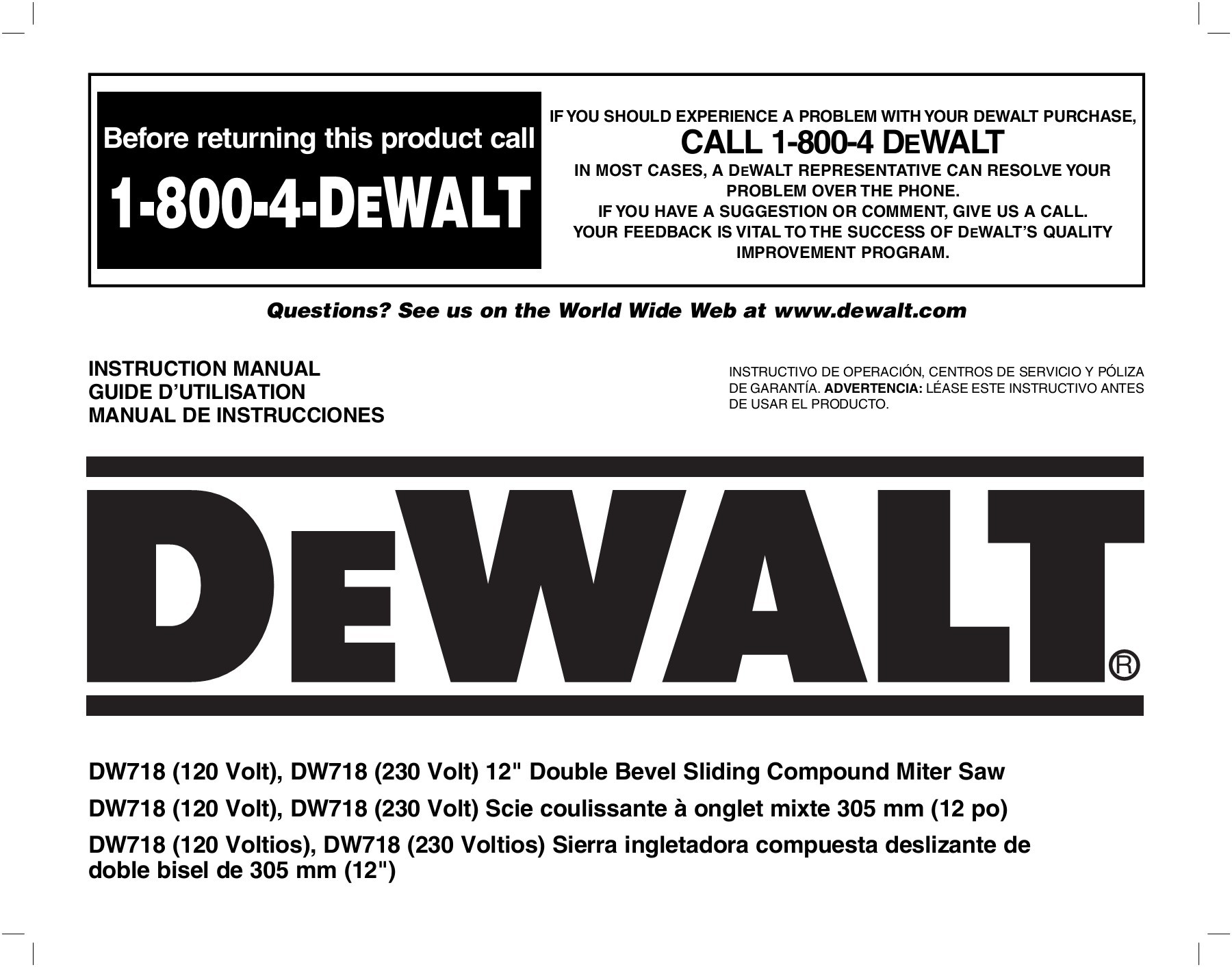Dewalt Dw718 Wiring Diagram