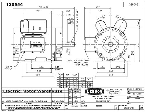 Capacitor Wiring Diagram For Electric Motor from wiringall.com