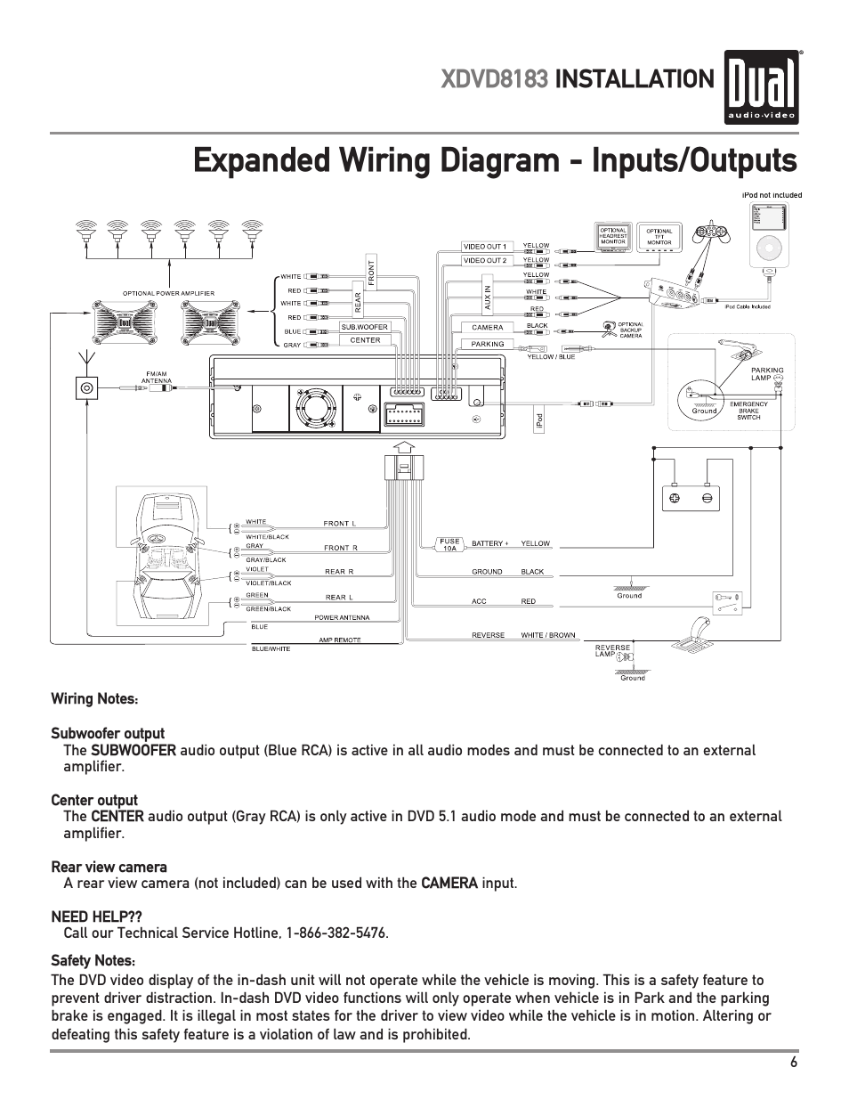 Dual Xdm280bt Wiring Harness Diagram