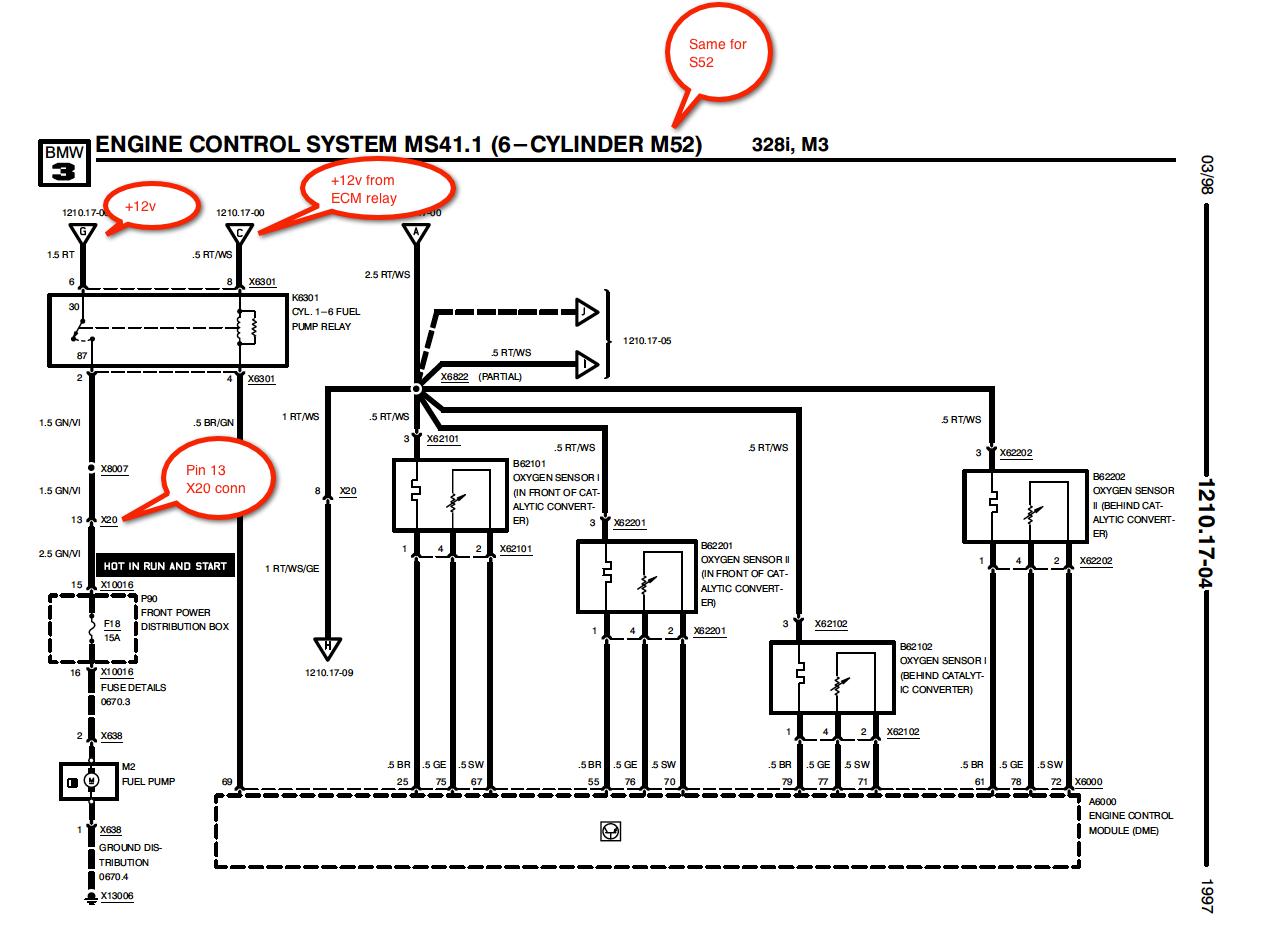E46 330i Fuel Pump Wiring Diagram