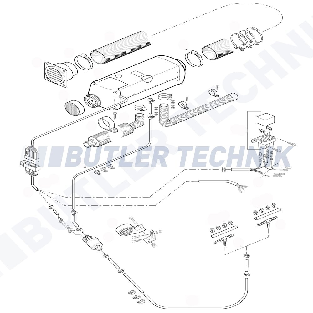 eberspacher 701 wiring diagram