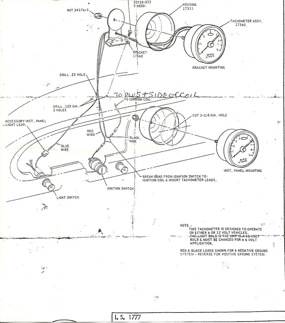 Equus Tachometer Wiring Diagram