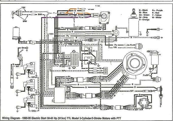 Evinrude 140 8pin Wiring Diagram