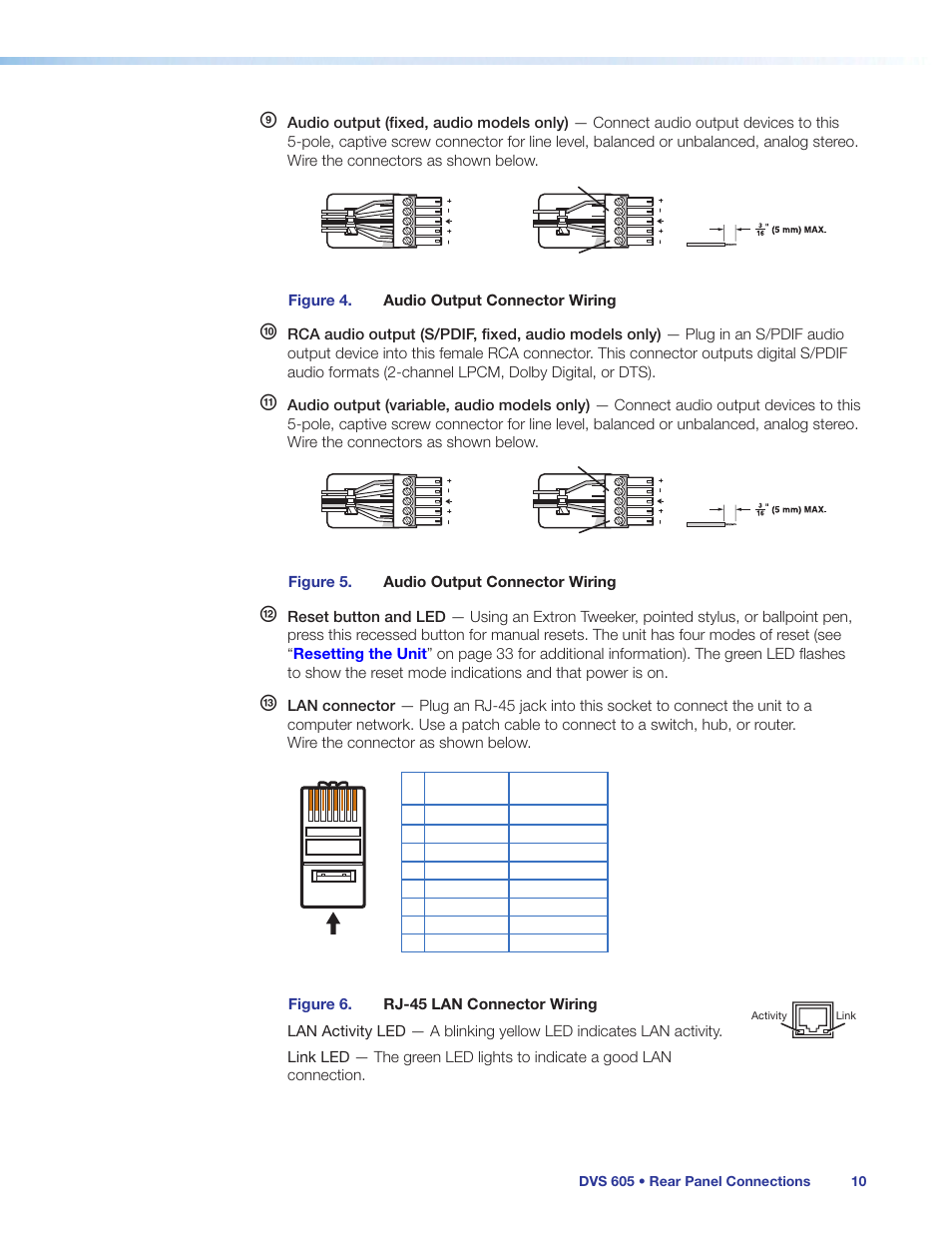 Extron Audio Wiring Diagram