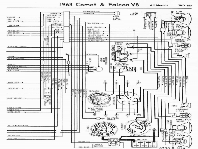 1964 Ford Falcon Wiring Diagram from wiringall.com