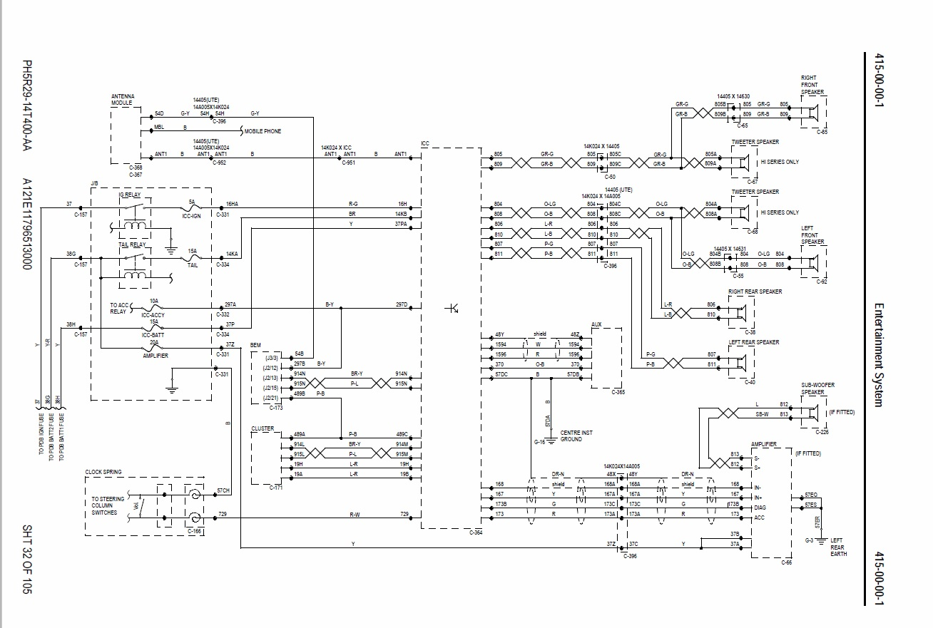 Fg Falcon Wiring Diagram