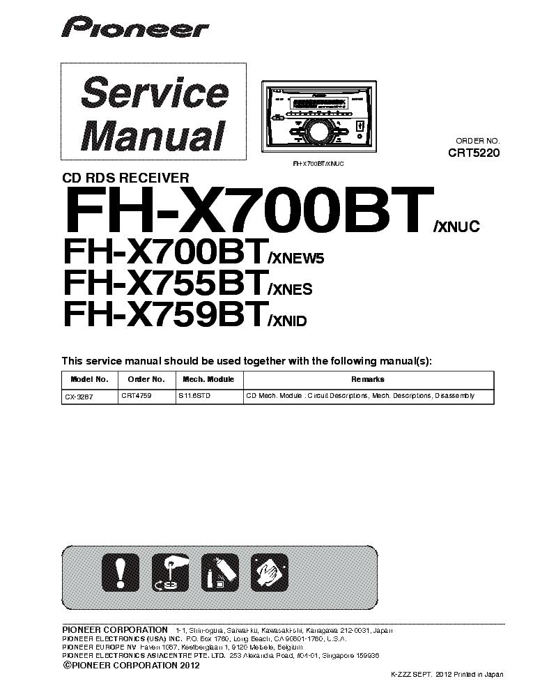 Fh X721bt Wiring Diagram