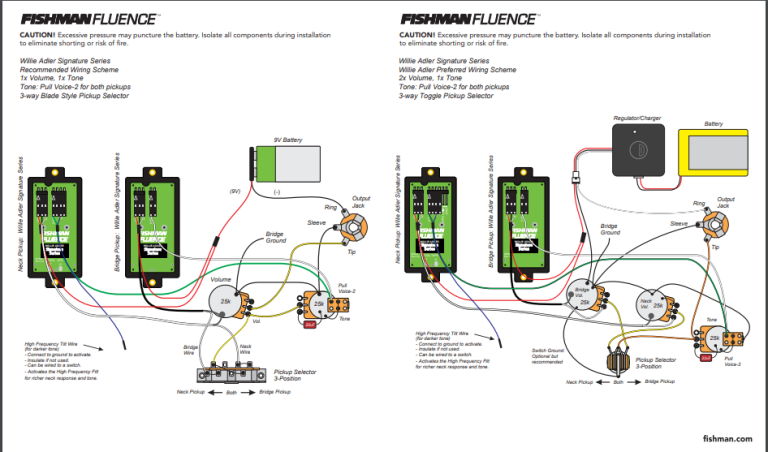 Fishman Wiring Diagram
