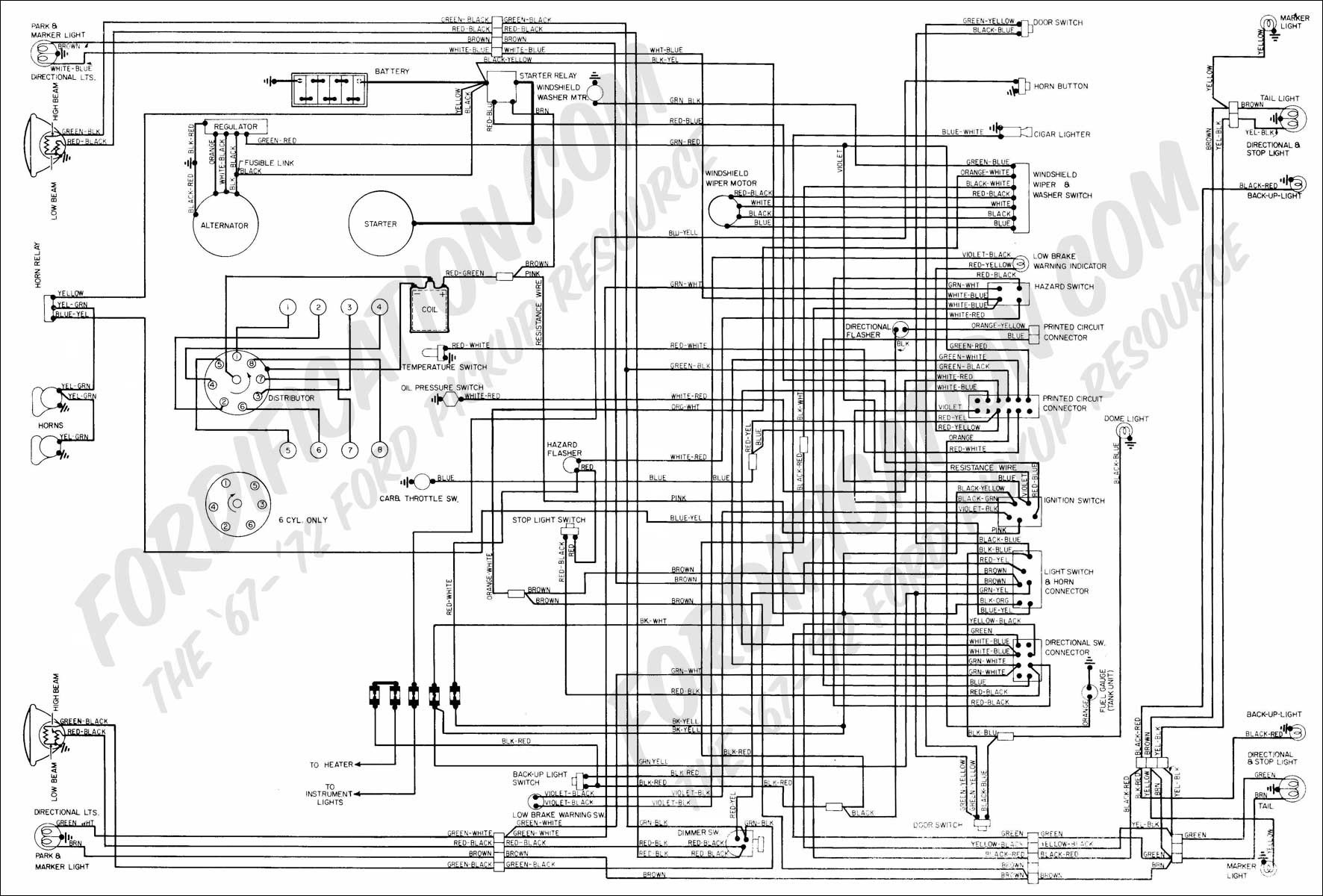 Ford 5l8t 18c815 Ce Wiring Harness Diagrams