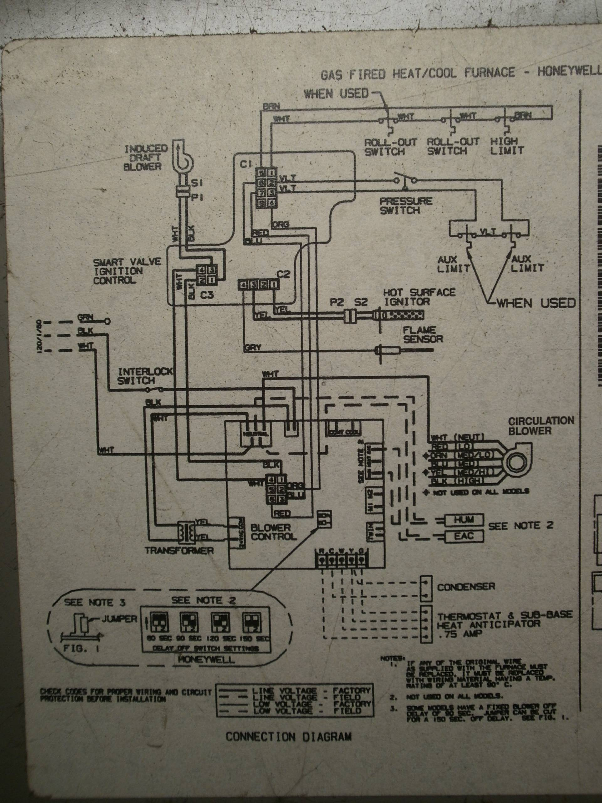 furnace-blower-motor-wiring-diagram-vexar-2 Wiring Diagram For Coleman Wall Thermostat on lennox furnace, old white rodgers, single pole, trane heat pump, wall heater, honeywell rth221b,