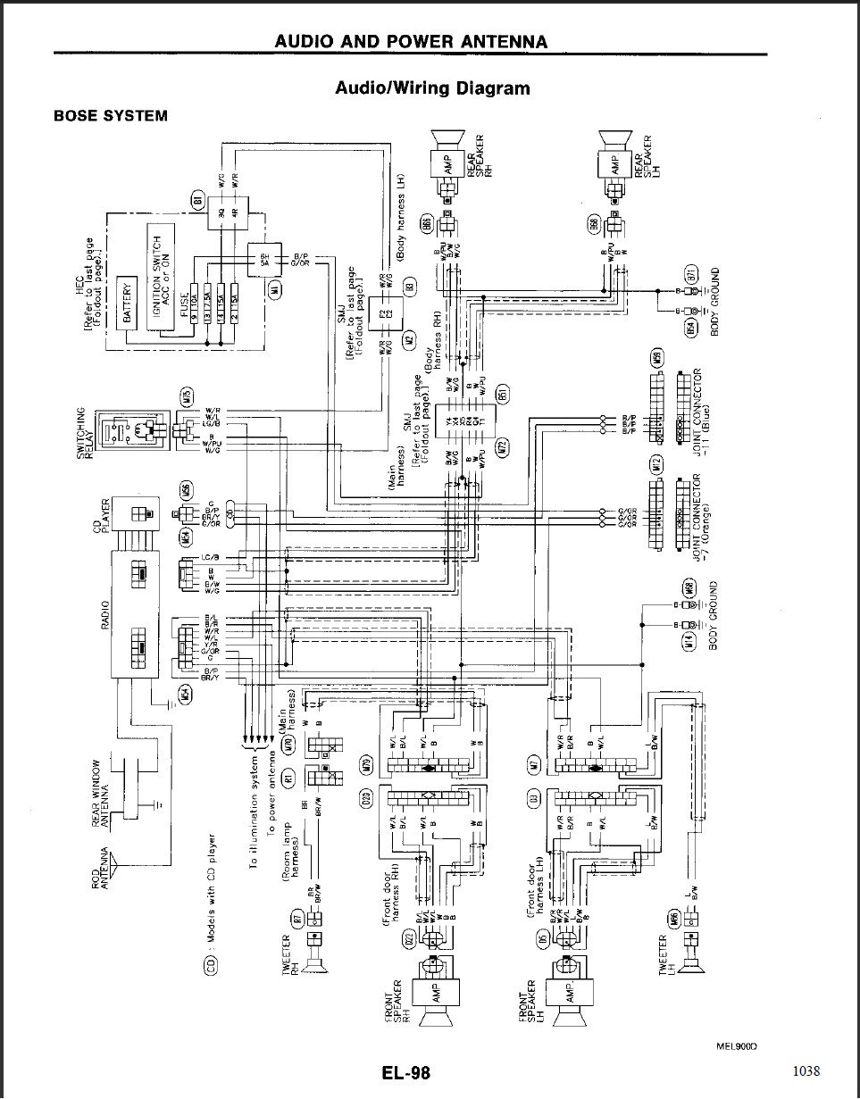Fx35 Subwoofer Wiring Diagram